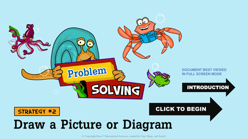 Math Problem Solving Strategies - Draw a Picture Or Diagram
