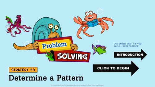 Math Problem Solving Strategies - Determine a Pattern