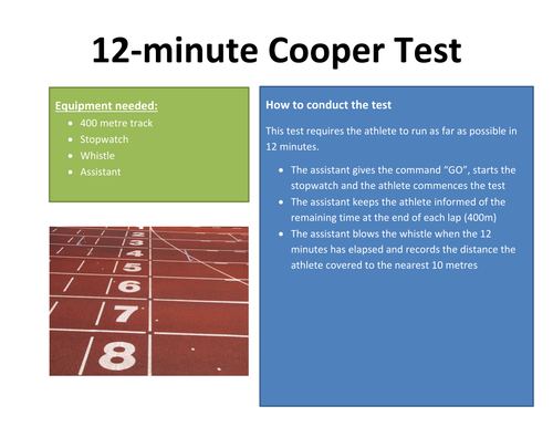 15 Fitness Test Reciprocal Cards By Grobes Teaching