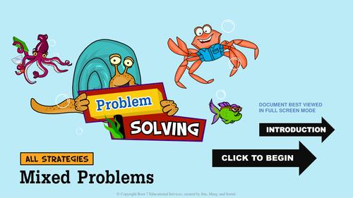 Math Problem Solving Strategies - Mixed Strategies