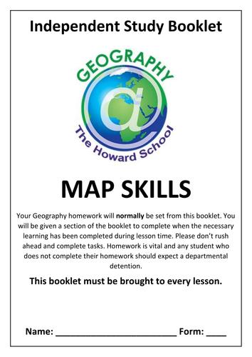 KS3 Map Skills Homework Booklet