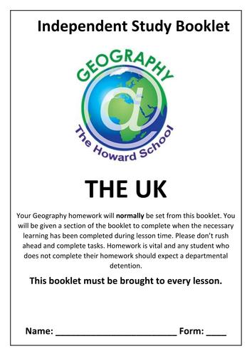 KS3 UK Homework Booklet