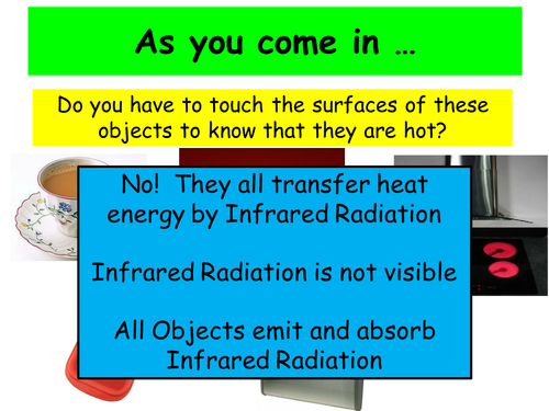 Heat Transfer 5  - Radiation