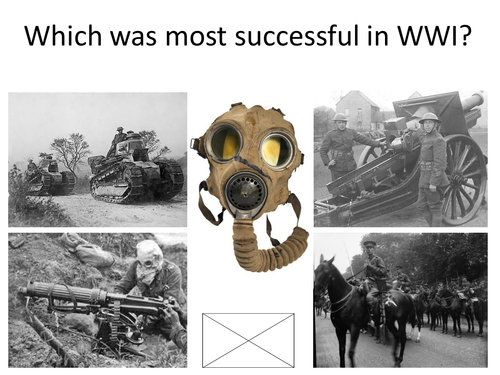 Weapons WWI