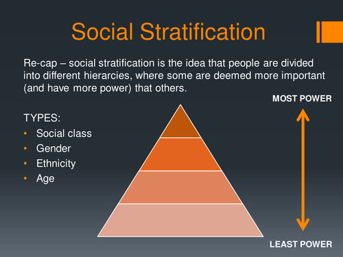 social stratification by dmbrady teaching resources tes