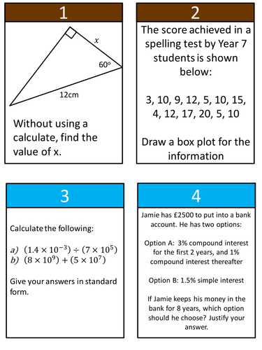 Gcse maths revision resources tes new maths gcse grades 6 9 mathonopoly fandeluxe Choice Image
