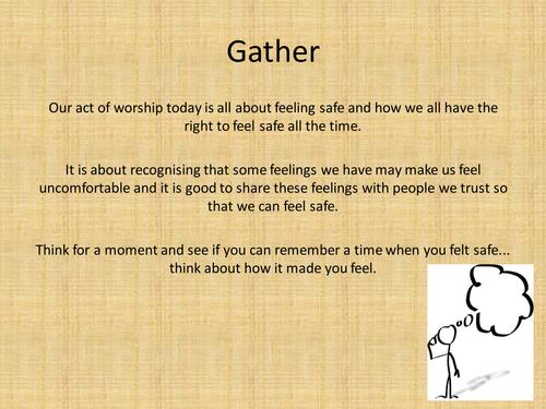 Assembly on feelings