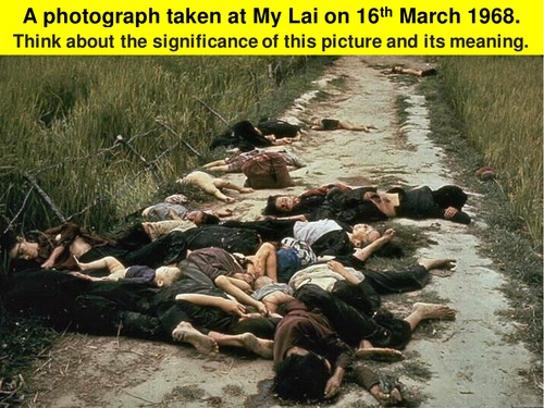 The My Lai Massacre, 1968