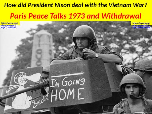 an evaluation of how president nixon handled the vietnam war