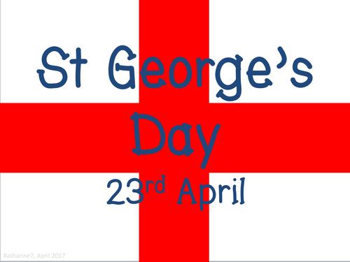 St George's Day presentation