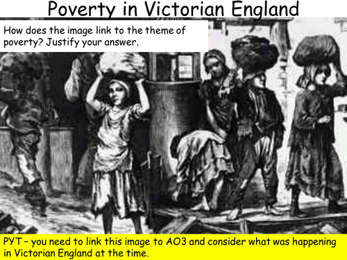 A Christmas Carol - Context Lesson on Poverty in Victorian England | Teaching Resources