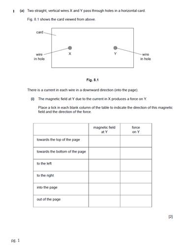 Worksheet on Electromagnetic Induction