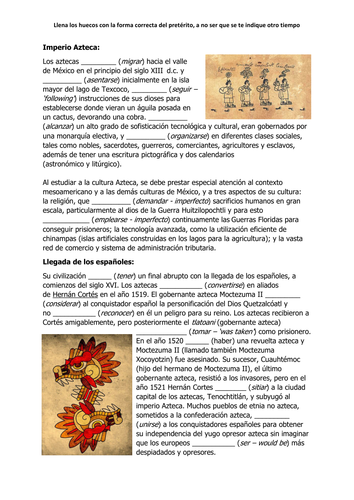 Introductory resources for the new A-level unit on patrimonio cultural