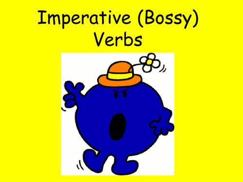 Imperative (Bossy Verbs) Verbs