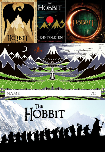 The Hobbit Acitivity Work Booklet