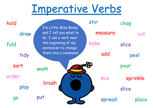 Imperative verbs word mat | Teaching Resources