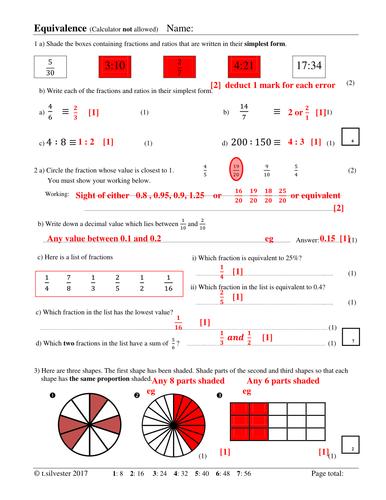 equivalent fractions decimals and percentages homework or revision resource by silvestertim. Black Bedroom Furniture Sets. Home Design Ideas