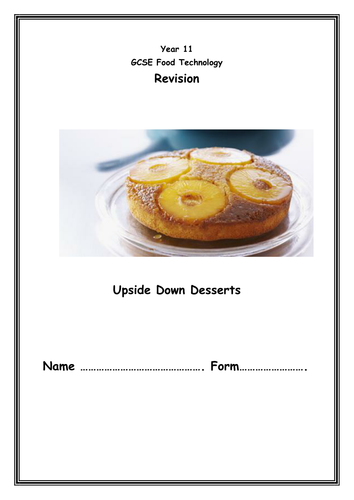 Aqa food technology revision site by ijmorecr teaching resources tes forumfinder Images