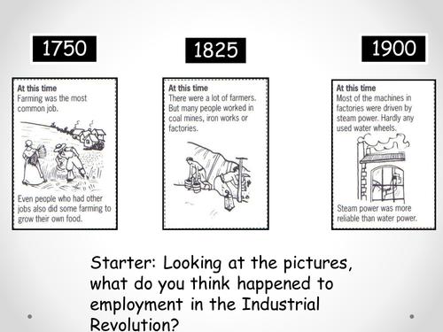 Industrial Revolution - Employment