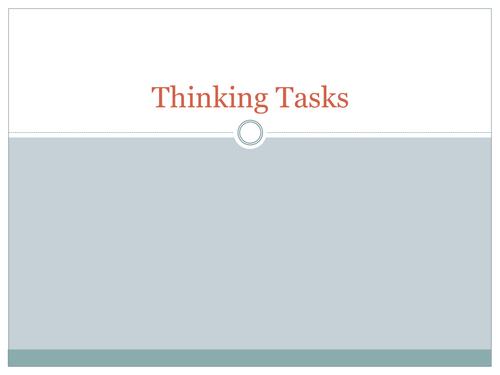 45 Thinking Tasks