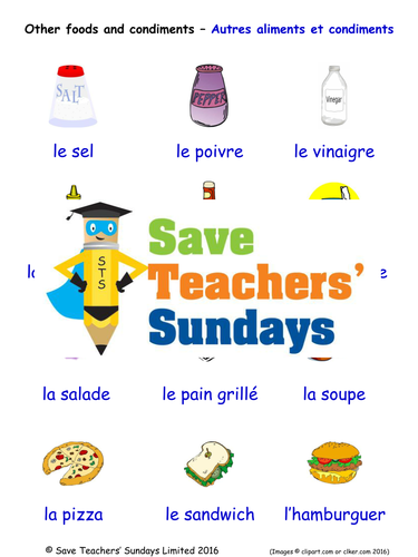P90x Chest And Back Worksheet Pdf Secondary French Resources Eating Out Phonics Oo Sound Worksheets Word with Greek Mythology Worksheets For Kids Pdf Other Food And Condiments In French Worksheets Games Activities And Flash  Cards With Inferencing Worksheets High School Pdf