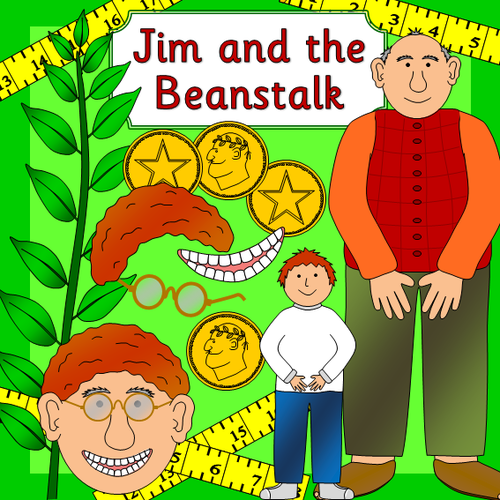 Jim and the Beanstalk story resources