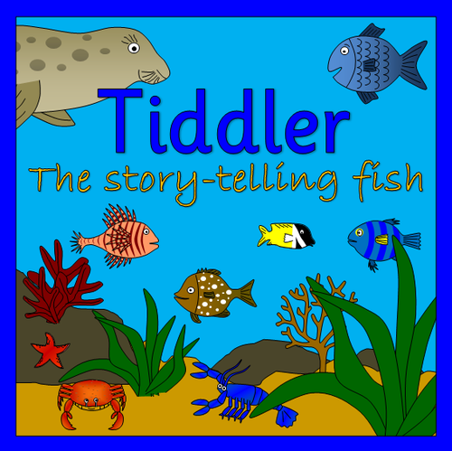 Tiddler the Story Telling Fish story sack resources