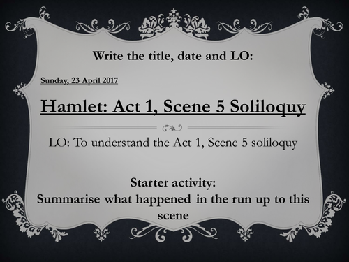 hamlet act one scene 5