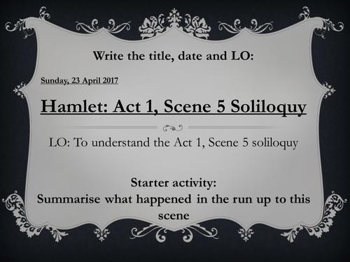 hamlet soliloquy act 1 scene 2 analysis essay View essay - hamlet-soliloquy-analysis from phi 208 at ashford university hamlet soliloquy analysis uploaded by xsparklyvix on sep 05 (act 2, scene 2.