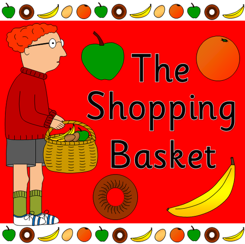 The Shopping Basket story sack resources