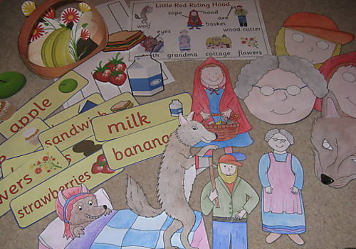 Little Red Riding Hood story sack resources