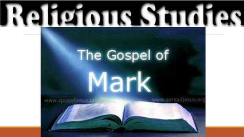 Mark's Gospel Background