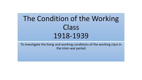 Interwar Working Class A Level History AQA