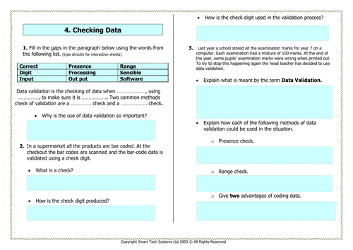 Secondary collecting and organising data resources