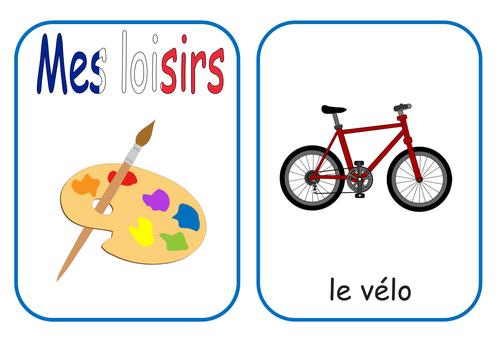 my hobbies french flash cards and worksheets ks1 2 by mrspomme teaching resources. Black Bedroom Furniture Sets. Home Design Ideas