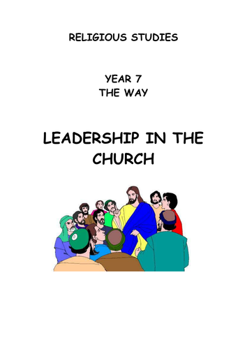 KS3  Leadership in the Church