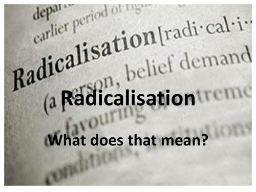 Radicalisation Powerpoint