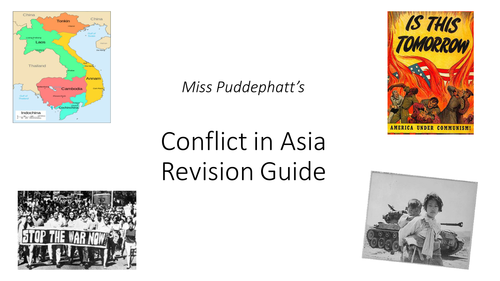 Revision Booklet- Conflict in Asia (Korea and Vietnam)