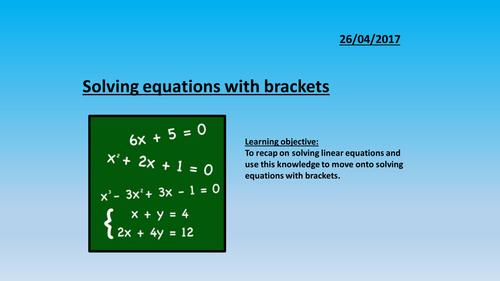 Linear Equations (Treasure Hunt) by Maths4Everyone - Teaching ...