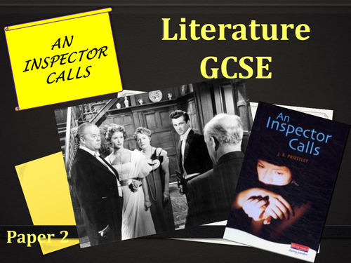 An Inspector Calls Revision Powerpoint