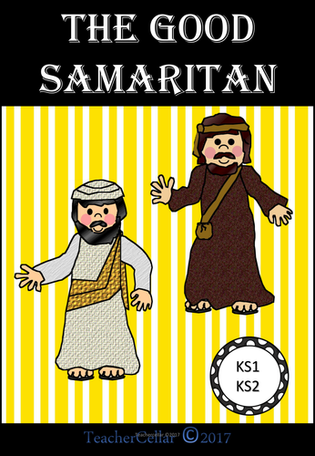 The Story of The Good Samaritan Helping Others