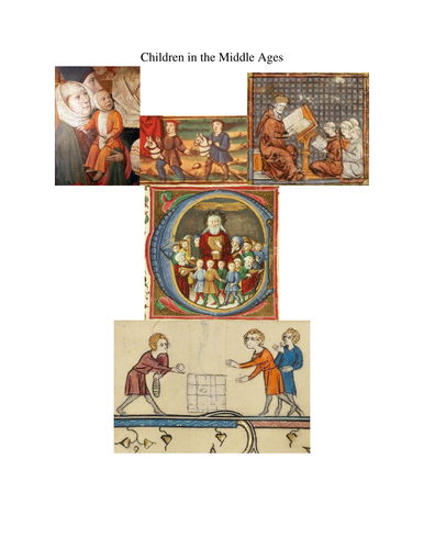 Children in the Middle Ages