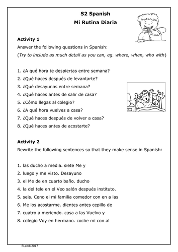 Useful French and Spanish Resources - Teaching Resources - TES