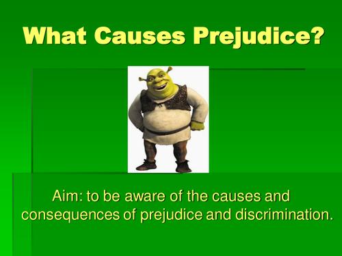 PowerPoint on Prejudice and Discrimination using Shrek