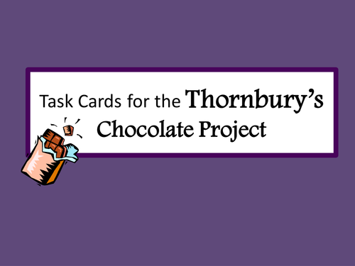 KS2/ KS3 Persuasion and advertising: group task to design and promote a new chocolate product