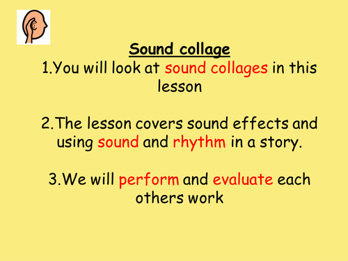 stand alone drama lesson - sound collage/tension/climax based on the 3 little pigs story