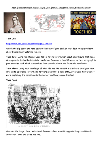 Primary mid-modern history (1750 – 1900) teaching resources ...