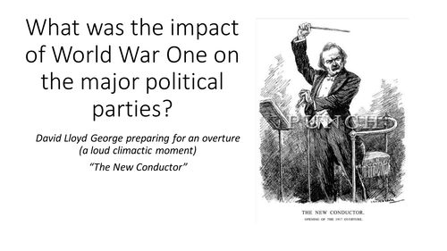 The impact of WW1 on British Political Parties - AQA A Level