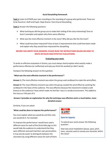 KS3 Drama: Complete Drama Skills Scheme with all resources