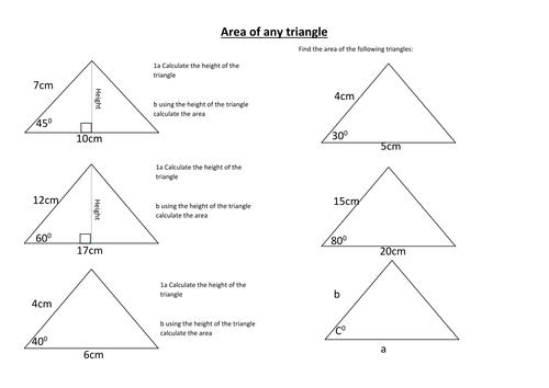 area 1 2 absinc